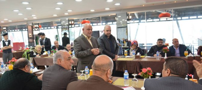 EADE-Sorouh NGOs a meeting with East Mosul ALP head teachers