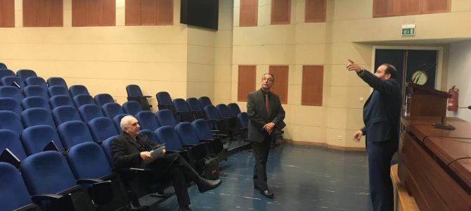 "EADE Delegation visited Lebanon University to prepare for hosting the ""The International Conference on Engineering, Medicine and Applied Science-ICEMAS-2"""