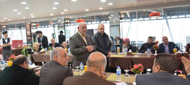 EADE-Sorouh NGOs a meeting with East Mosul ALP head teachers