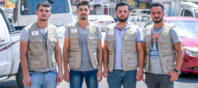 outh from the Sorouh Foundation-SSDF and the Engineering Association for Development & Environment-EADE on the right side of Mosul city launched a UNESCO-supported campaign to rehabilitate students who were unable to complete their primary education.
