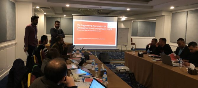 EADE team presented at IOM the implemented activities of the finished project