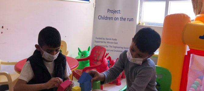 CHILDREN ON RUN